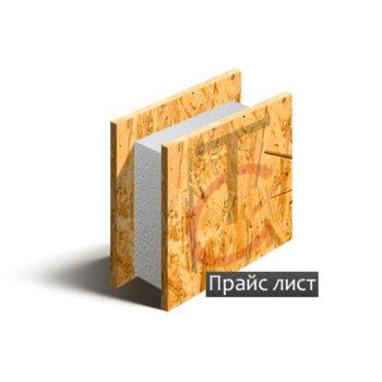 Деревянные сип панели с пенополистиролом